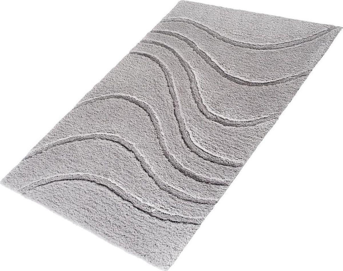 "Коврик для ванной Ridder ""La ola"", цвет: серый, 60 х 90 см"