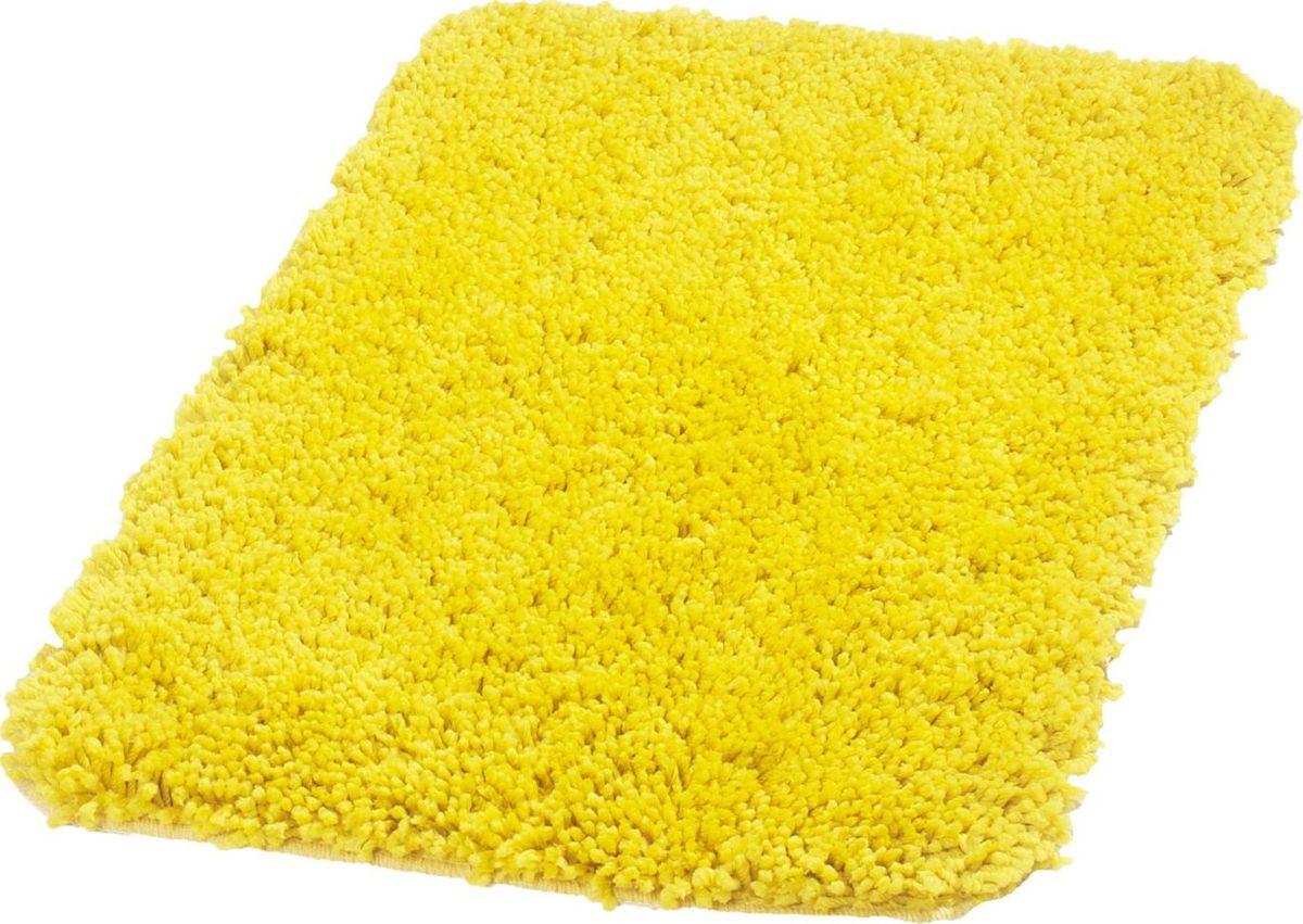 "Коврик для ванной Ridder ""Softy"", цвет: желтый, 50 х 75 см"