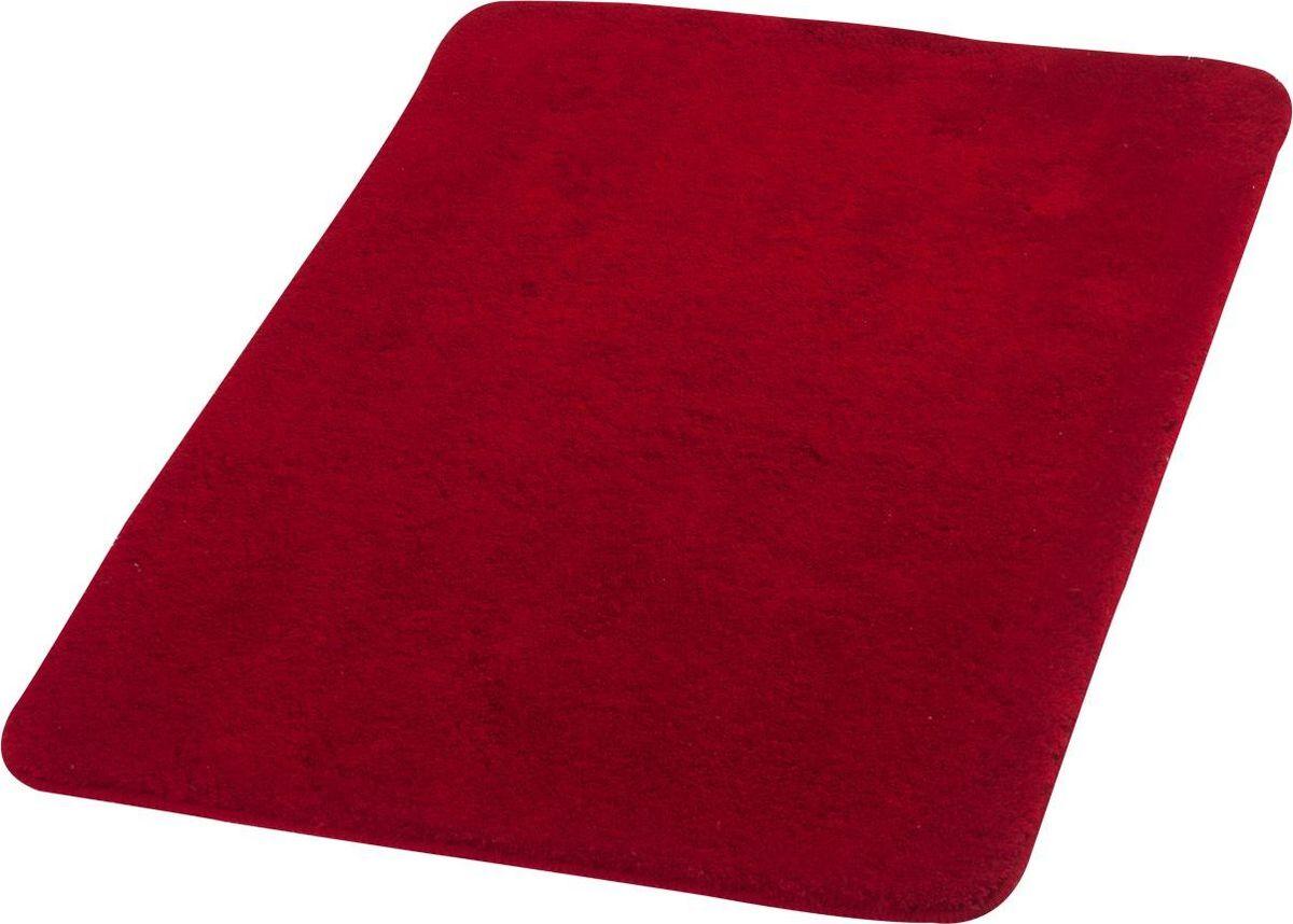 Коврик для ванной Ridder Palma, цвет: красный, 60 х 90 см аппликатор ляпко коврик спутник цвет красный шаг игл 6 2 мм 60 х 180 мм