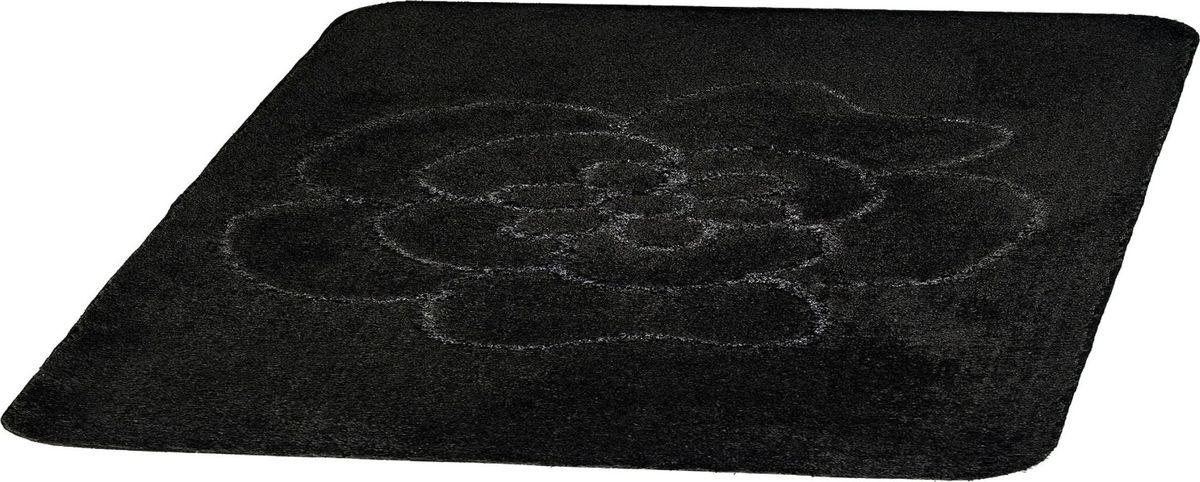 Коврик для ванной Ridder Diamond, цвет: черный, 55 х 50 см стакан для ванной комнаты ridder diamond цвет белый
