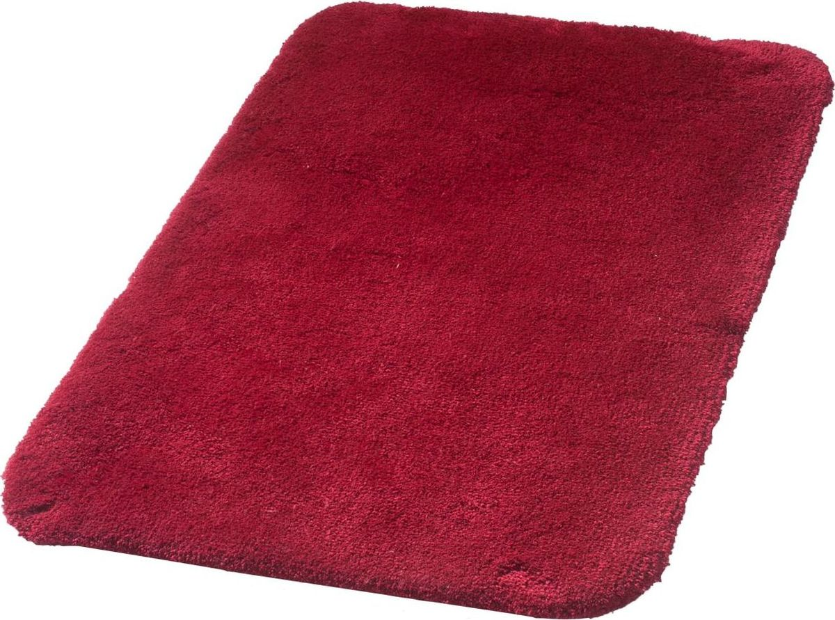 Коврик для ванной Ridder Istanbul, цвет: красный, 60 х 90 см аппликатор ляпко коврик спутник цвет красный шаг игл 6 2 мм 60 х 180 мм