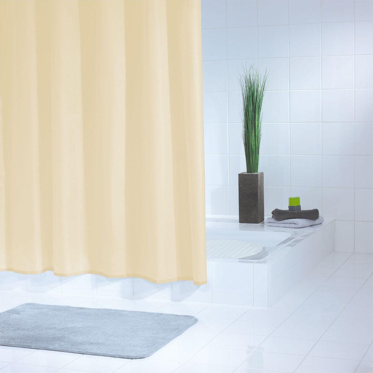 Штора для ванной комнаты Ridder Standard, цвет: бежевый, 240 х 180 см штора для ванной комнаты ridder helgoland цвет синий голубой 240 х 180 см