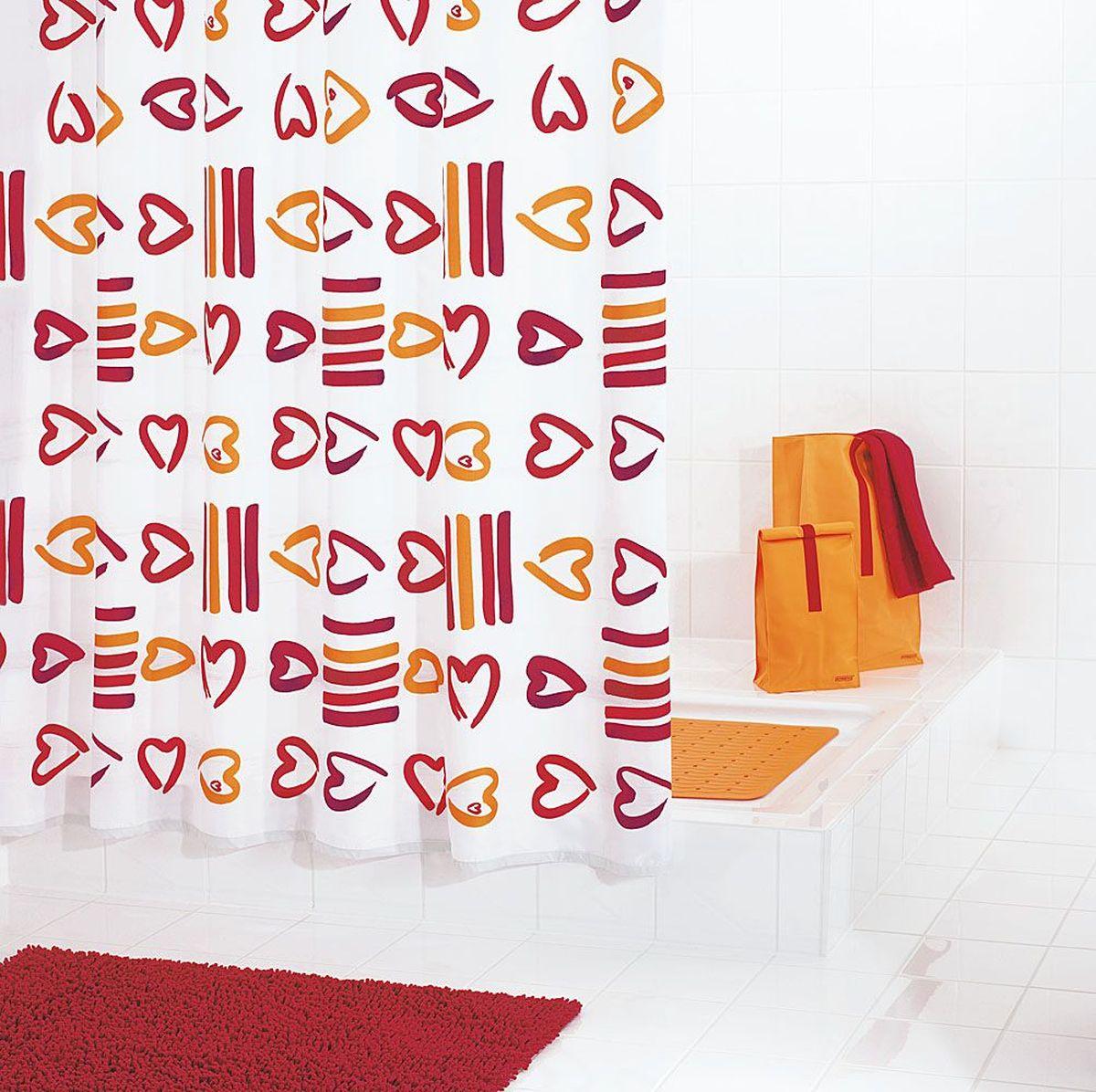 Штора для ванной комнаты Ridder Lovely, 180 х 200 см