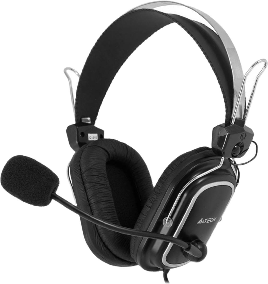Компьютерная гарнитура A4Tech HS-50, Black
