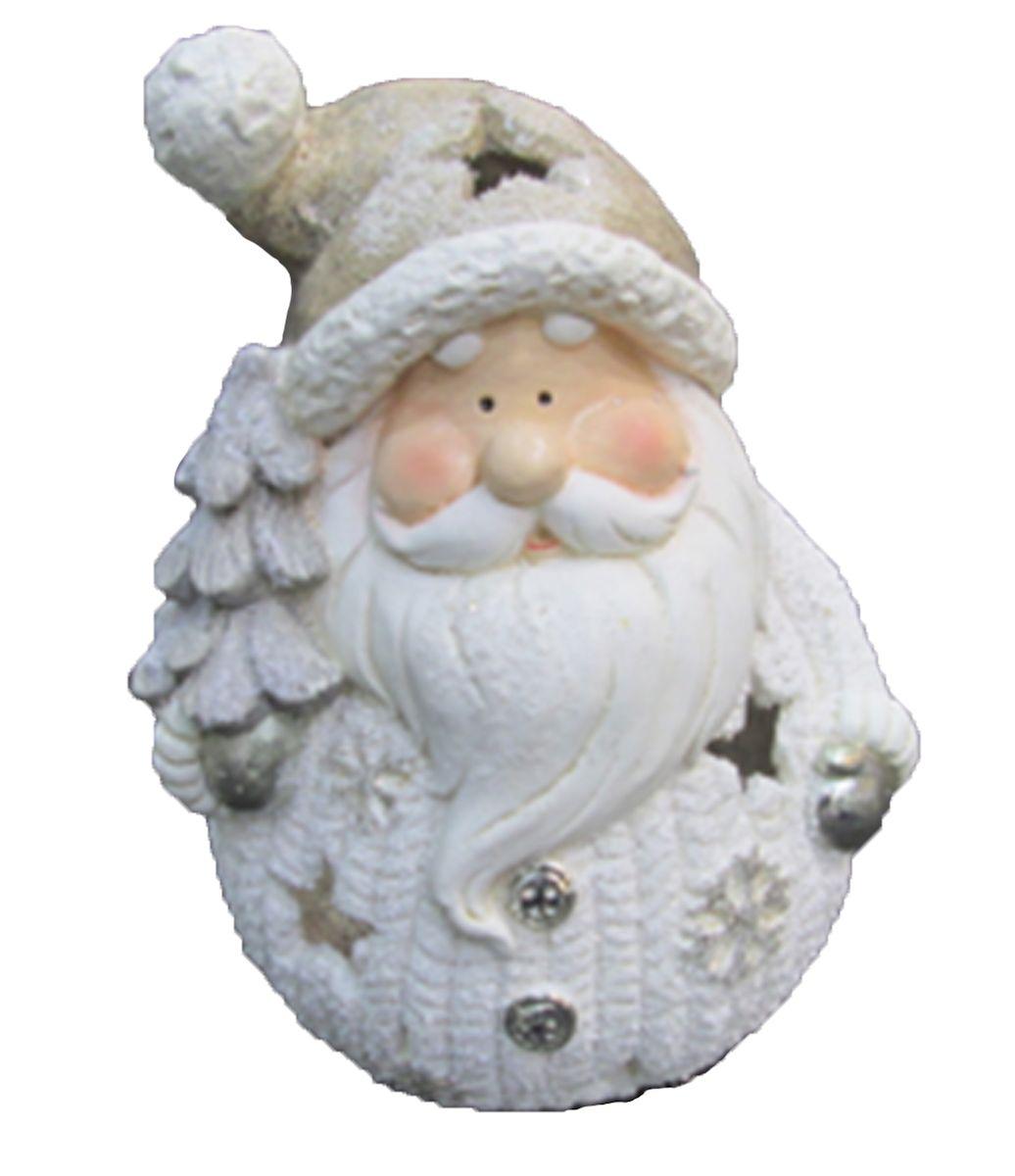 Подсвечник новогодний Magic Time Дед Мороз с елочкой, 24,5 x 20 x 33 см mag2000 дед мороз с домиком подсвечник 9 7 x 6 2 x 9 5 см