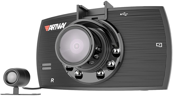 Artway AV-520, Black видеорегистратор