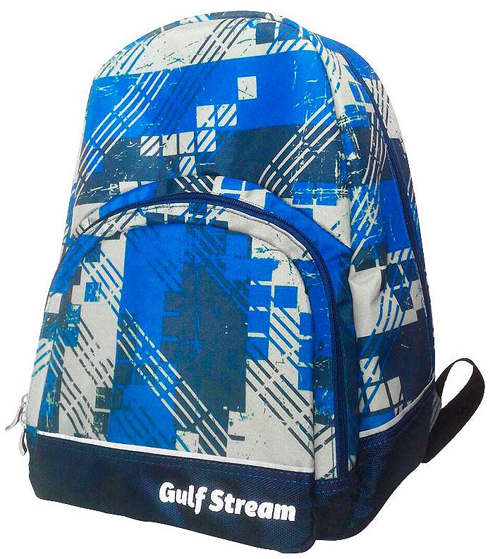 Рюкзак городской Polar Adventure, цвет: синий, светло-серый, темно-синий, 16,5 л. п59-04 рюкзак городской t tiger collection разм 46x29x17см анат спинка темно синий коричневый