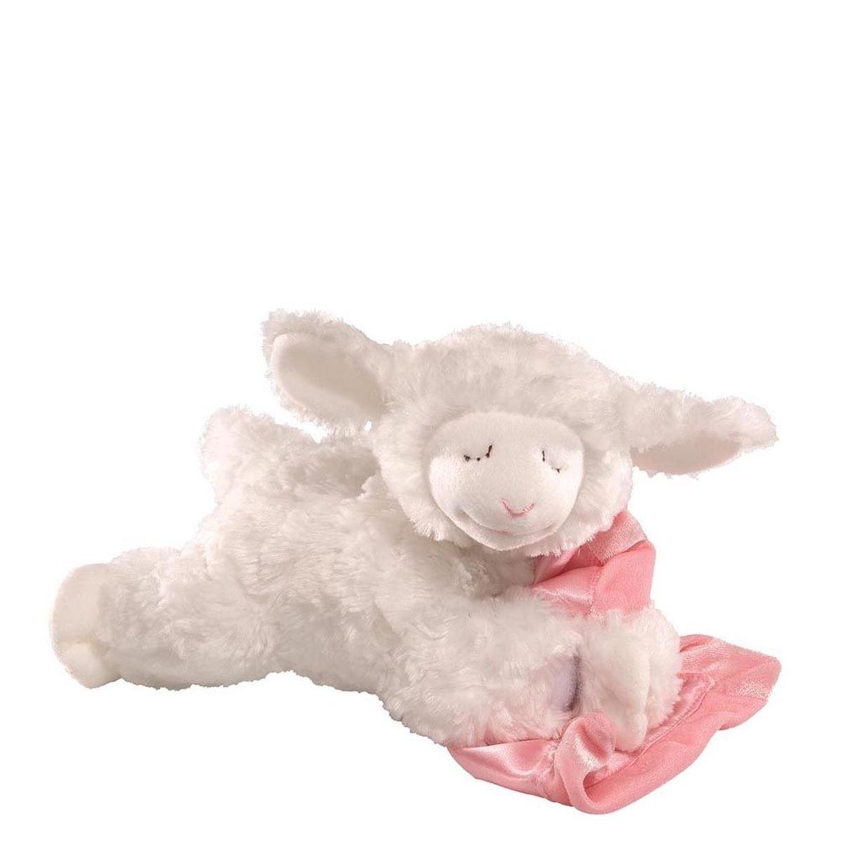 Gund Мягкая игрушка Prayer Winky Lamb Pink 15 см недорого