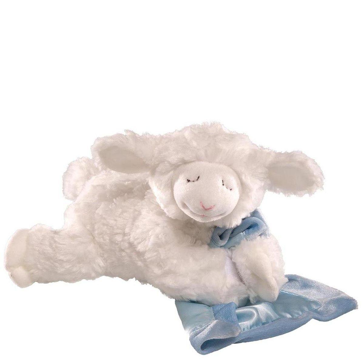 Gund Мягкая игрушка Prayer Winky Lamb Blue 15 см