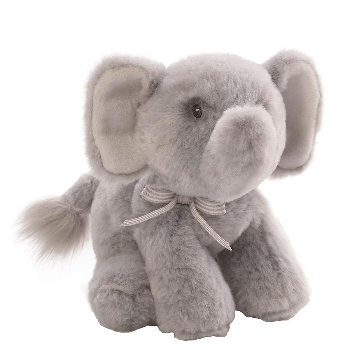 Gund Мягкая игрушка Oh So Soft Elephant Grey Rattle 18 см постер oh so me oh so me mp002xu0e68r
