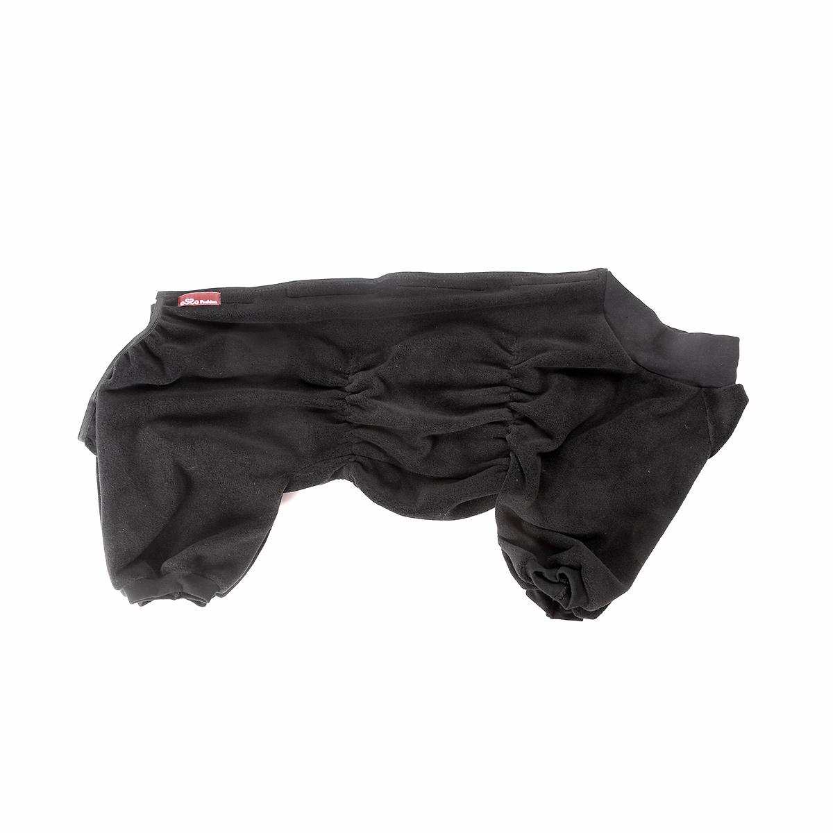Комбинезон для собак Osso Fashion, для мальчика, цвет: графит. Размер 37 комбинезон для собак osso fashion для мальчика цвет черный размер 55