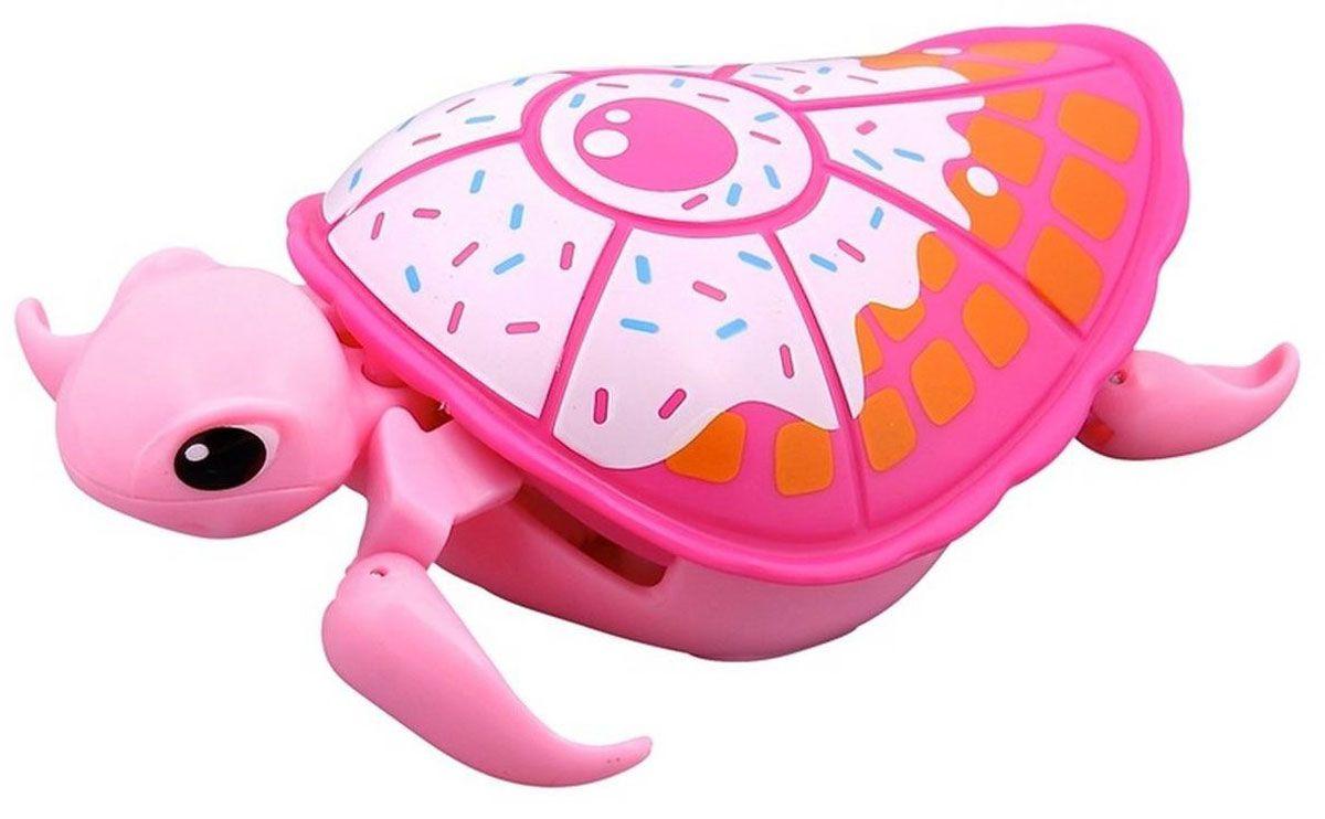 Little Live Pets Интерактивная игрушка Черепашка цвет розовый белый