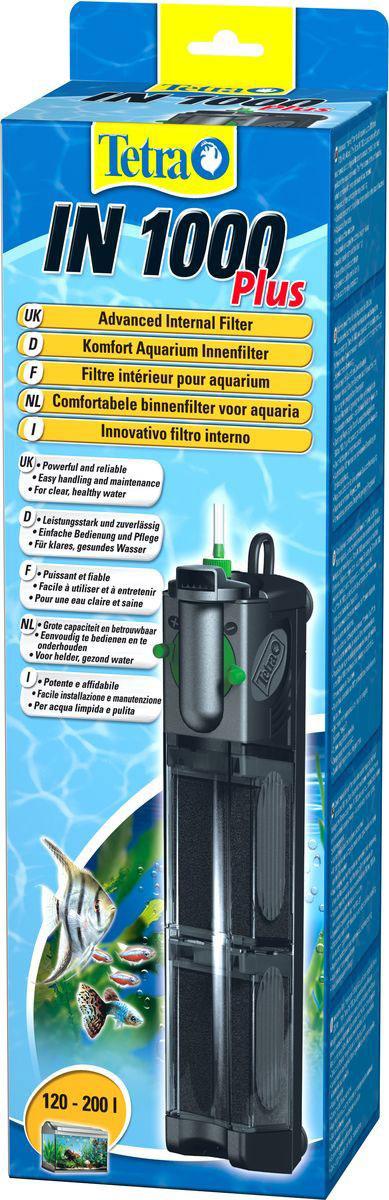 Фильтр внутренний Tetra IN 1000 Plus, для аквариумов до 200 л фильтр внутренний для аквариума tetra in 600 plus