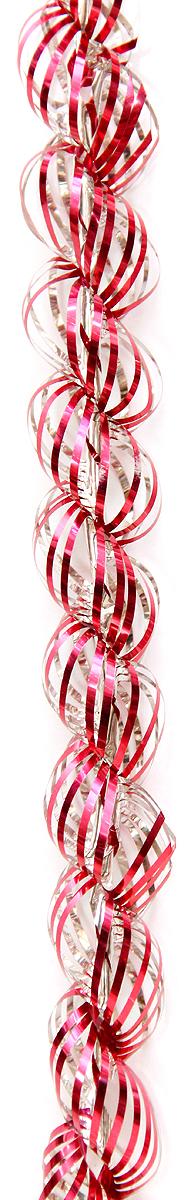 """Мишура новогодняя """"Magic Time"""", цвет: красный, диаметр 4 см, длина 1,5 м. 38183/75774"""