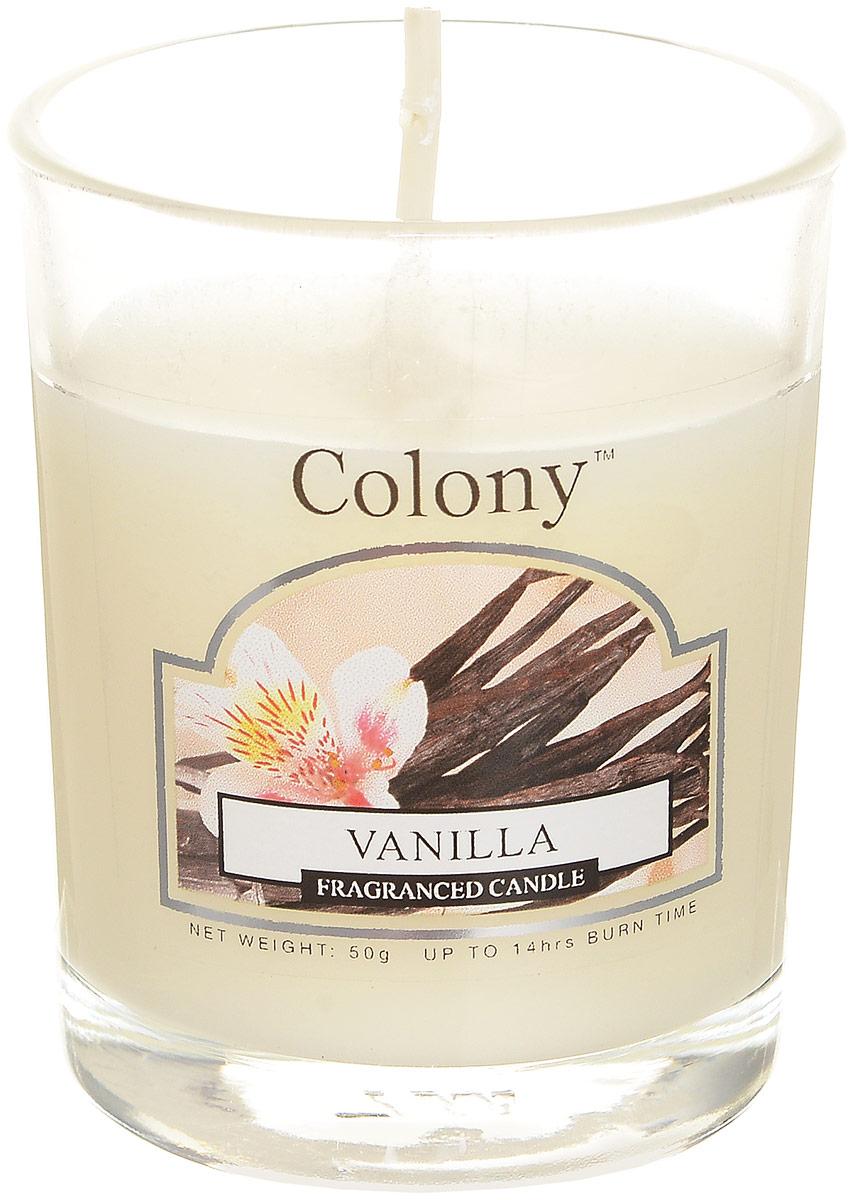 Свеча ароматическая лампадная Wax Lyrical Colony. Ваниль свеча ароматическая лампадная wax lyrical альпийский лес 16 часов горения