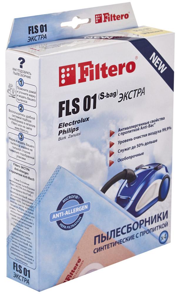 Filtero FLS 01 (S-bag) Экстра пылесборник (4 шт) parasound z prev2
