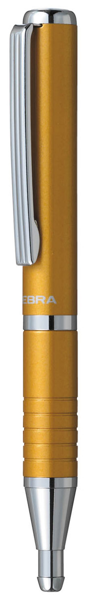 Zebra Ручка шариковая Slide цвет корпуса горчичный цены