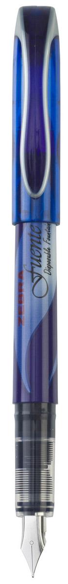 Zebra Ручка перьевая Fuente цвет корпуса синий ручка zebra j4sa11