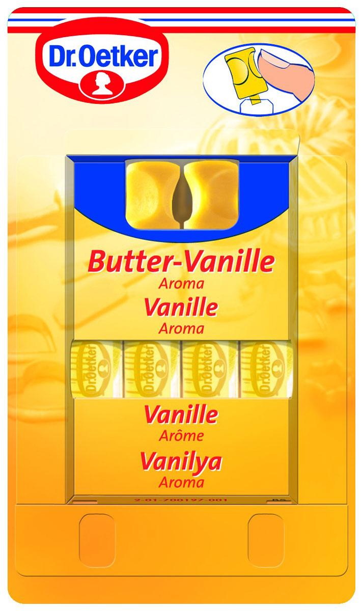 Dr.Oetker ароматизатор сливочная ваниль, 4 шт по 2 мл dr oetker пикантфикс для грибов 100 г