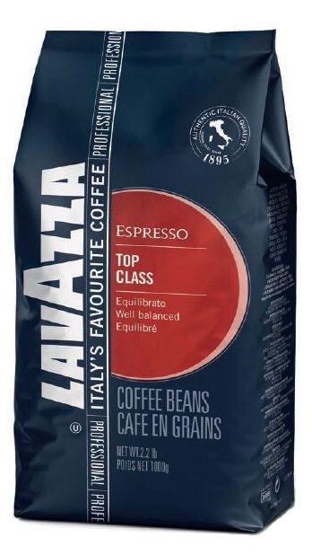 Lavazza Top Class Gran Gusto кофе в зернах, 1 кг lavazza grande ristorazione rossa кофе в зернах 1 кг