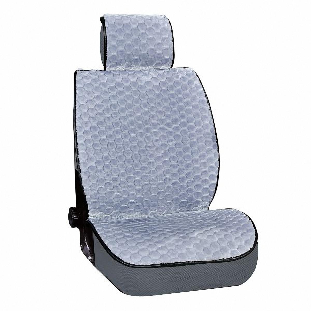 Накидка на сиденье Skyway, цвет: серый. S03001021 skyway eco