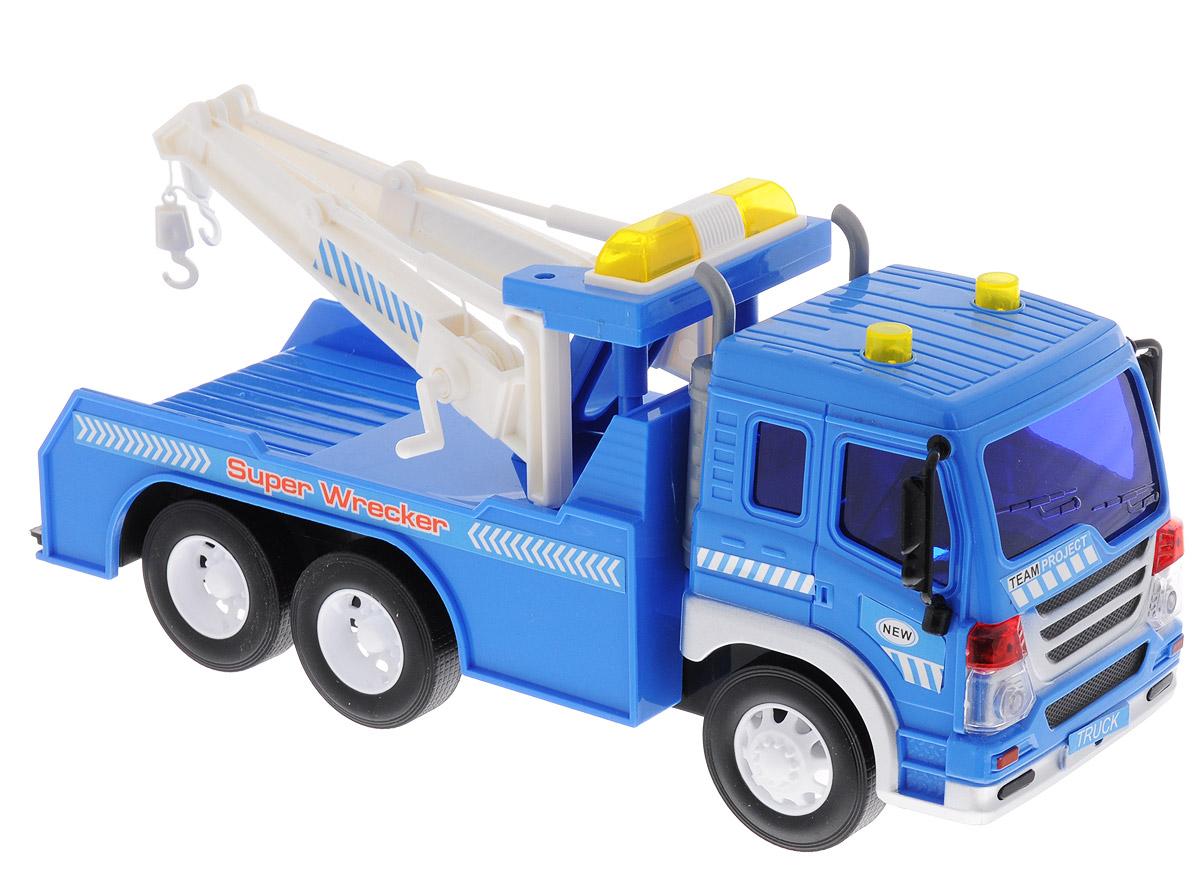 Dave Toy Эвакуатор инерционный грузовик dave инерционный