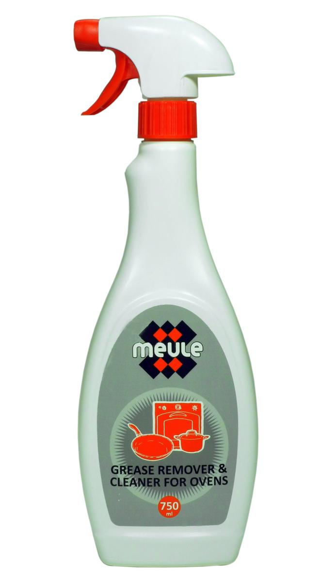 Средство Meule Grease Remover для удаления жира и копоти, 750 мл средство meule для чистки стеклокерамических поверхностей и микроволновых печей 750 мл