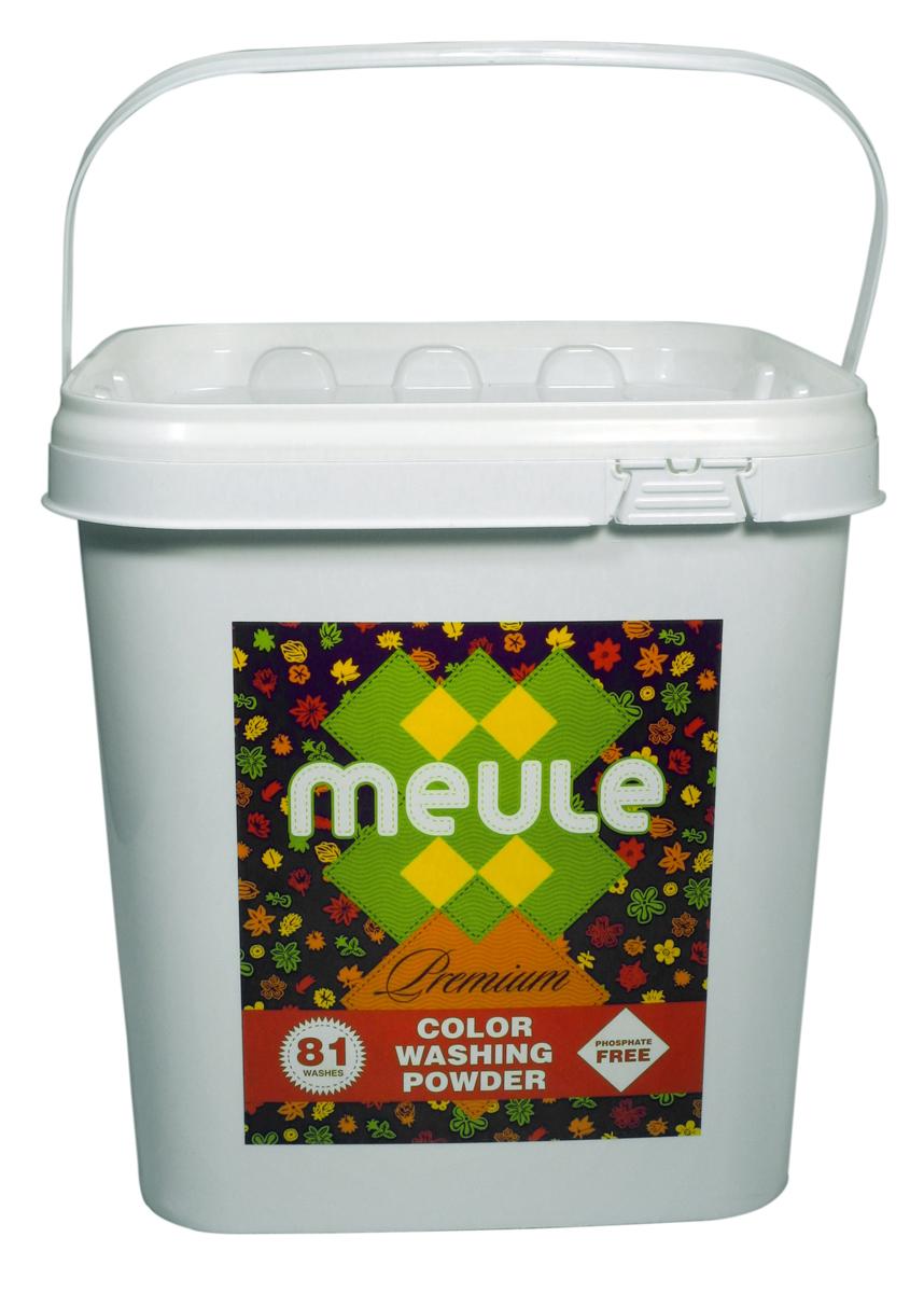 Порошок стиральный Meule, концентрат, для цветного белья, 3 кг стиральный порошок cadi концентрат для цветных вещей 3