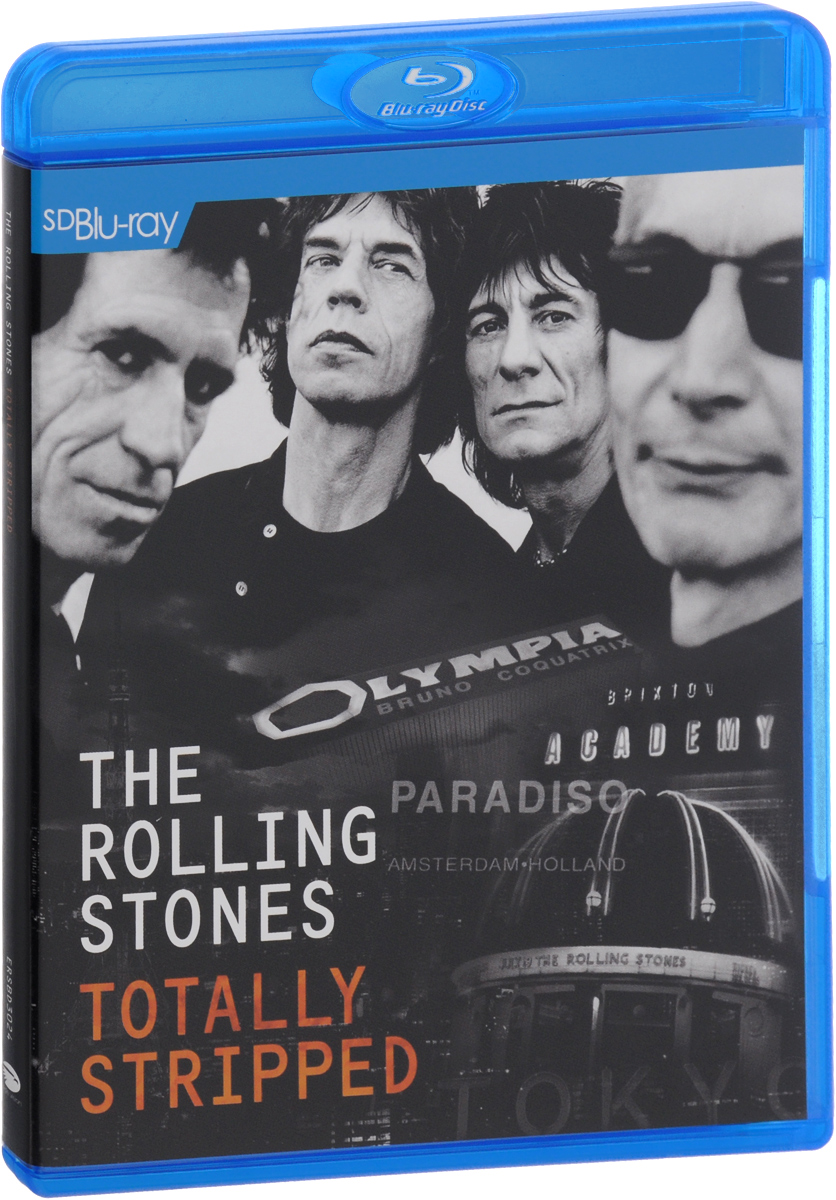 The Rolling Stones: The Totally Stripped (Blu-ray) sigala amsterdam