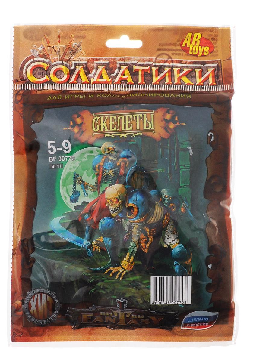 ABtoys Набор солдатиков Скелеты 6 шт игровые фигурки 1 toy набор фигурок крысы 6 шт