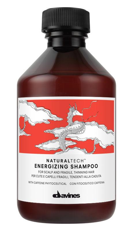 Davines Энергетический шампунь против выпадения волос Natural Tech Energizing Shampoo, 250 мл густая себорея кожи