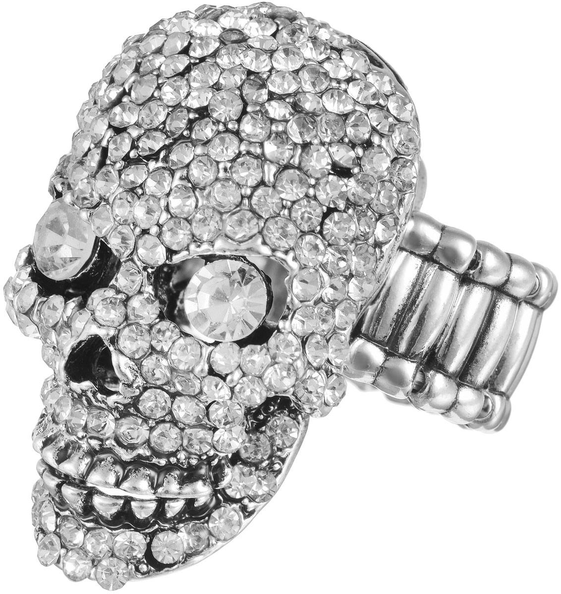 Кольцо женское Taya, цвет: серебристый. T-B-11620