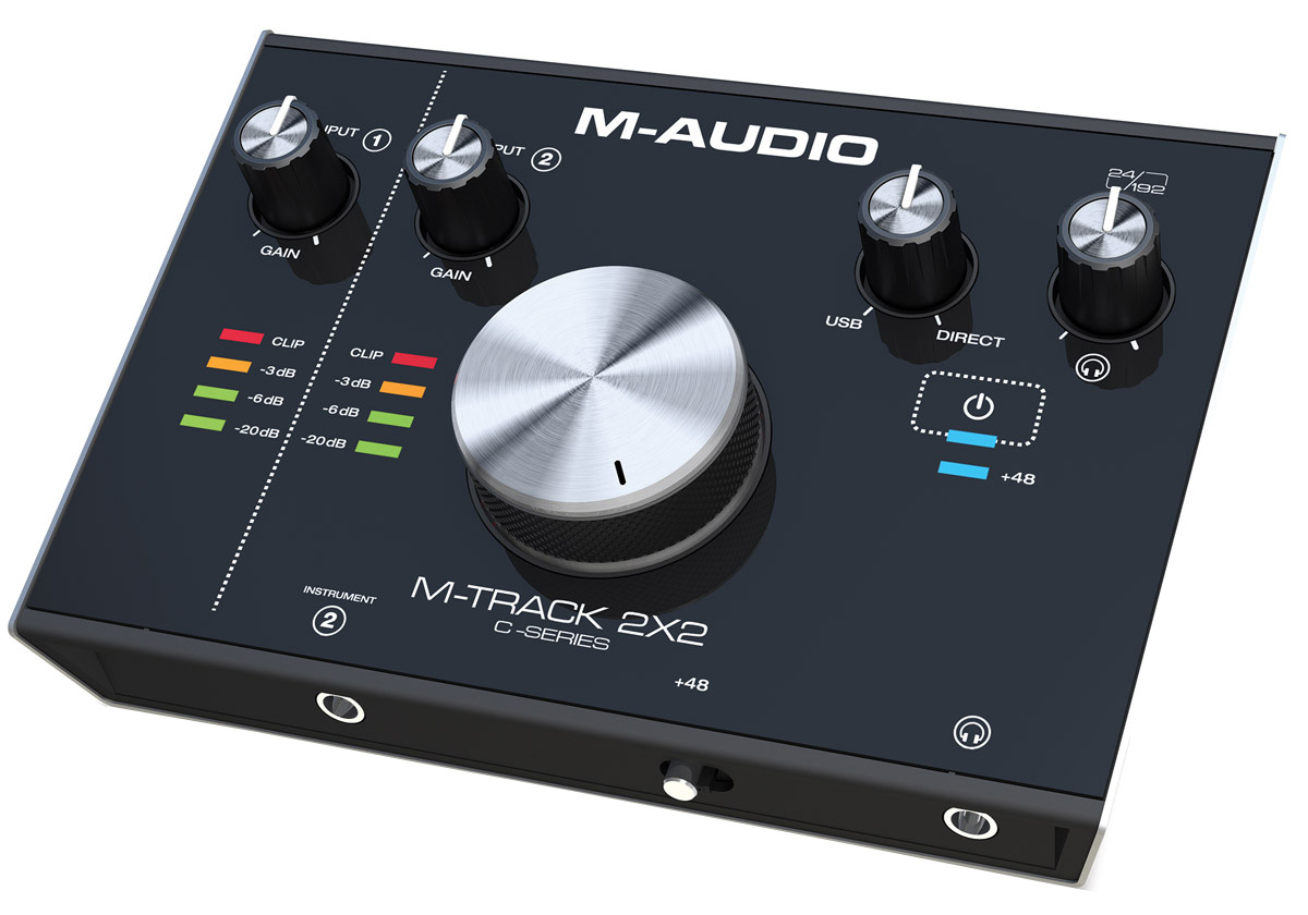 M-Audio M-Track 2X2, Black аудиоинтерфейс