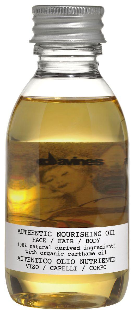 Davines Питательное масло для лица, волос и тела Authentic Formulas Nourishing oil face/hair/body, 140 мл
