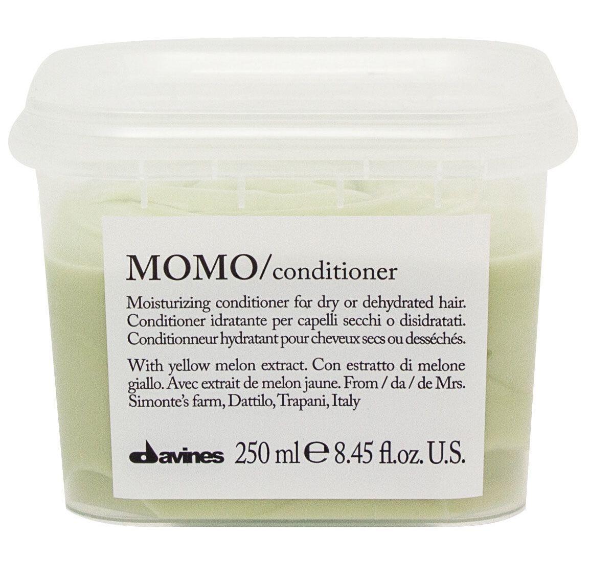 Davines Увлажняющий кондиционер, облегчающий расчесывание волос Essential Haircare Momo Conditioner, 250 мл davines защитный кондиционер для сохранения косметического цвета волос essential haircare new minu conditioner 250 мл