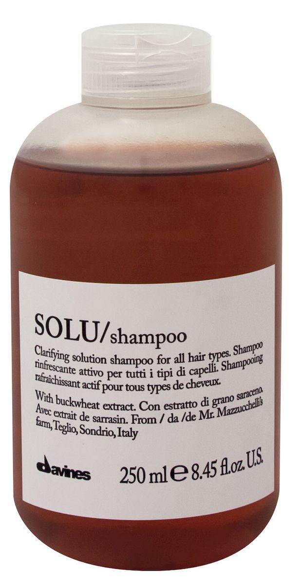 Davines Активно освежающий шампунь для глубокого очищения волос Essential Haircare New Solu Shampoo, 250 мл