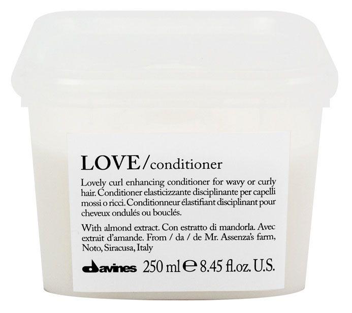 Davines Кондиционер, усиливающий завиток Essential Haircare Love curl enhancing conditioner, 250 мл davines защитный кондиционер для сохранения косметического цвета волос essential haircare new minu conditioner 250 мл