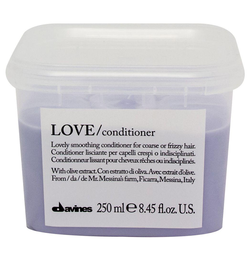 Davines Кондиционер для разглаживания завитка Essential Haircare Love Lovely Smoothing Conditioner, 250 мл davines защитный кондиционер для сохранения косметического цвета волос essential haircare new minu conditioner 250 мл