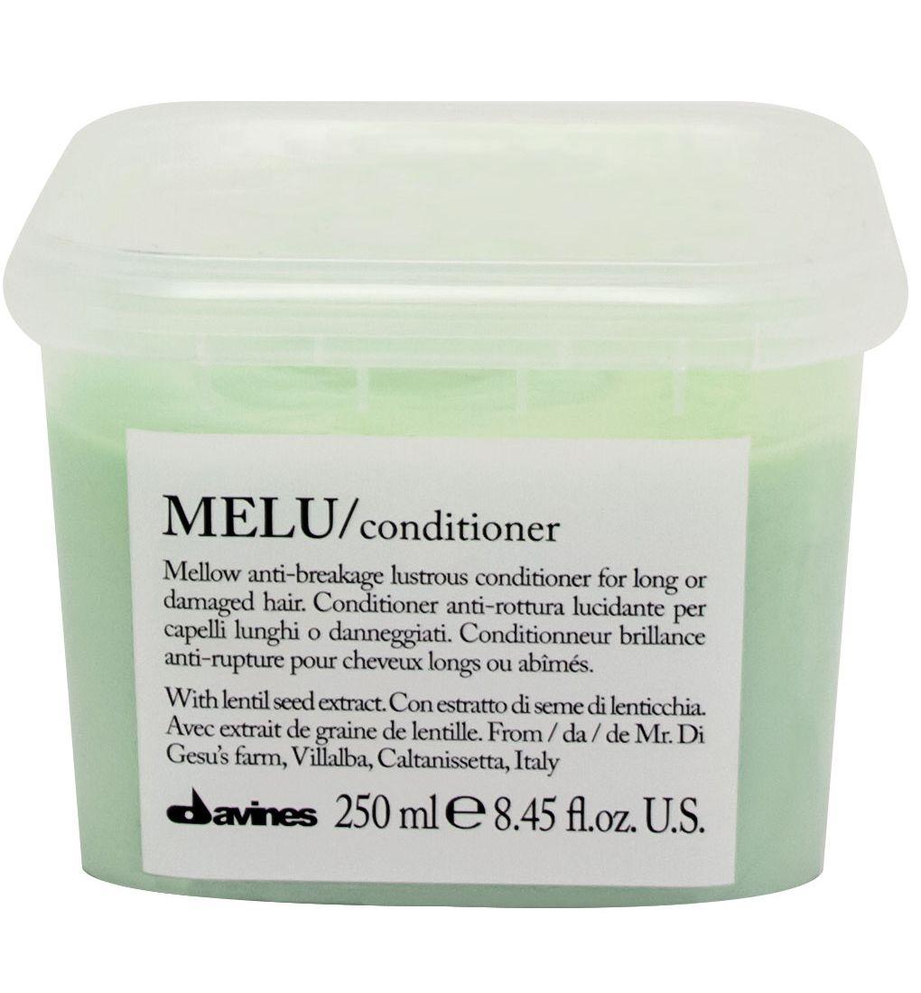 Davines Кондиционер для предотвращения ломкости волос Essential Haircare Melu Conditioner, 250 мл davines защитный кондиционер для сохранения косметического цвета волос essential haircare new minu conditioner 250 мл