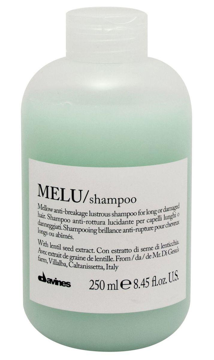 Davines Шампунь для предотвращения ломкости волос Essential Haircare Melu Shampoo, 250 мл davines защитный кондиционер для сохранения косметического цвета волос essential haircare new minu conditioner 250 мл