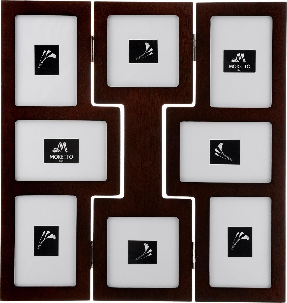 Фоторамка Moretto, на 8 фото. 238011 фоторамки lefard фоторамка винтаж 1х19х24 см