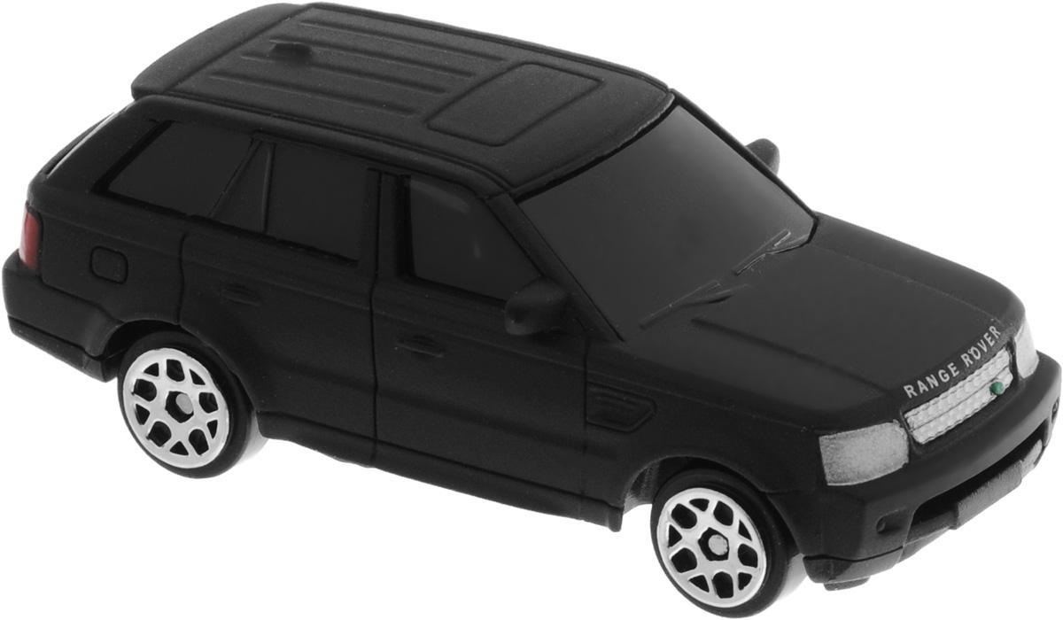 Uni-FortuneToys Модель автомобиля Land Rover Range Sport цвет черный матовый