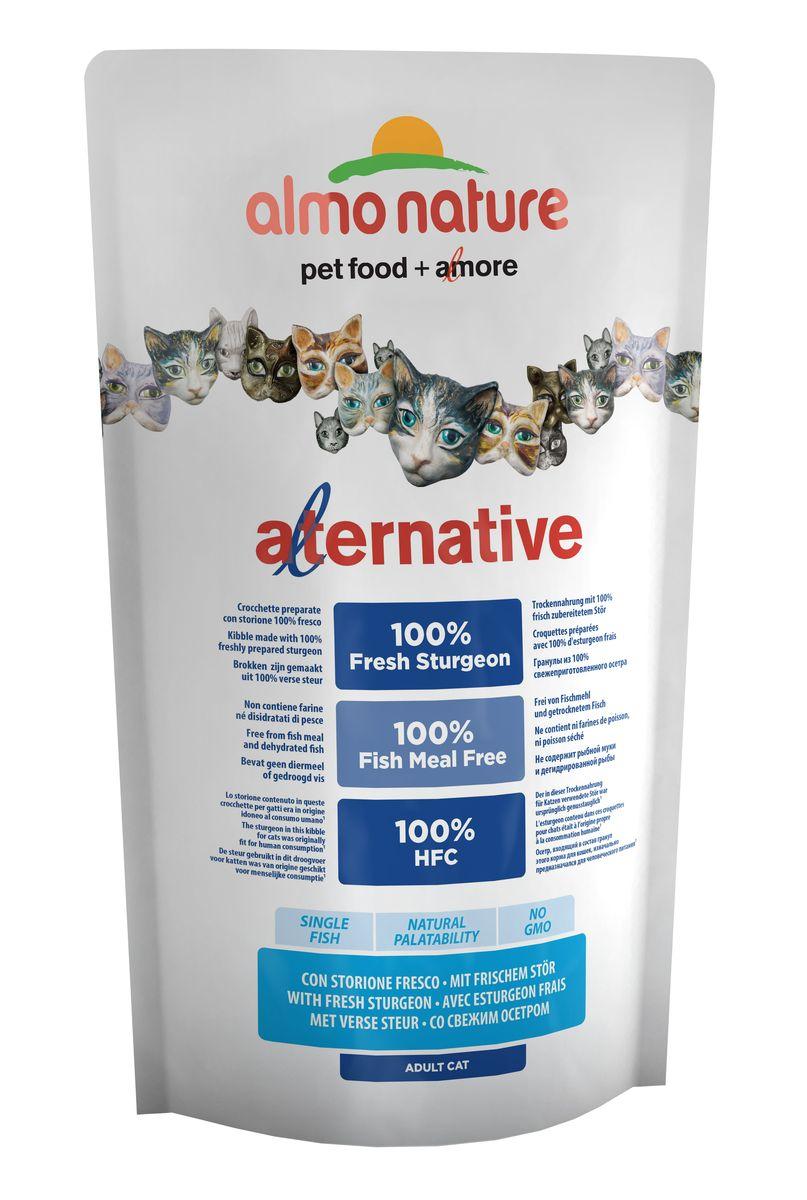 Корм сухой для кошек Almo Nature Alternative, с осетром и рисом, 750 г добавка пищевая nature s bounty нэйчес баунти натуральная эхинацея 400 мг 100 капсул