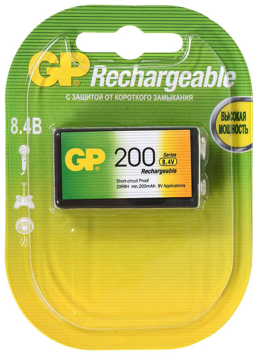 "Аккумулятор ""GP Batteries"", тип Крона, 8,4V, 200 mAh"