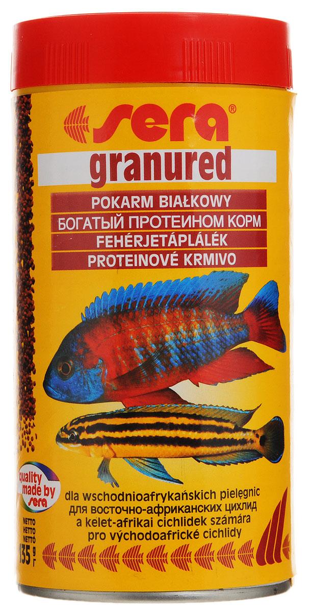 Корм Sera Granured, для плотоядных рыб, 135 г