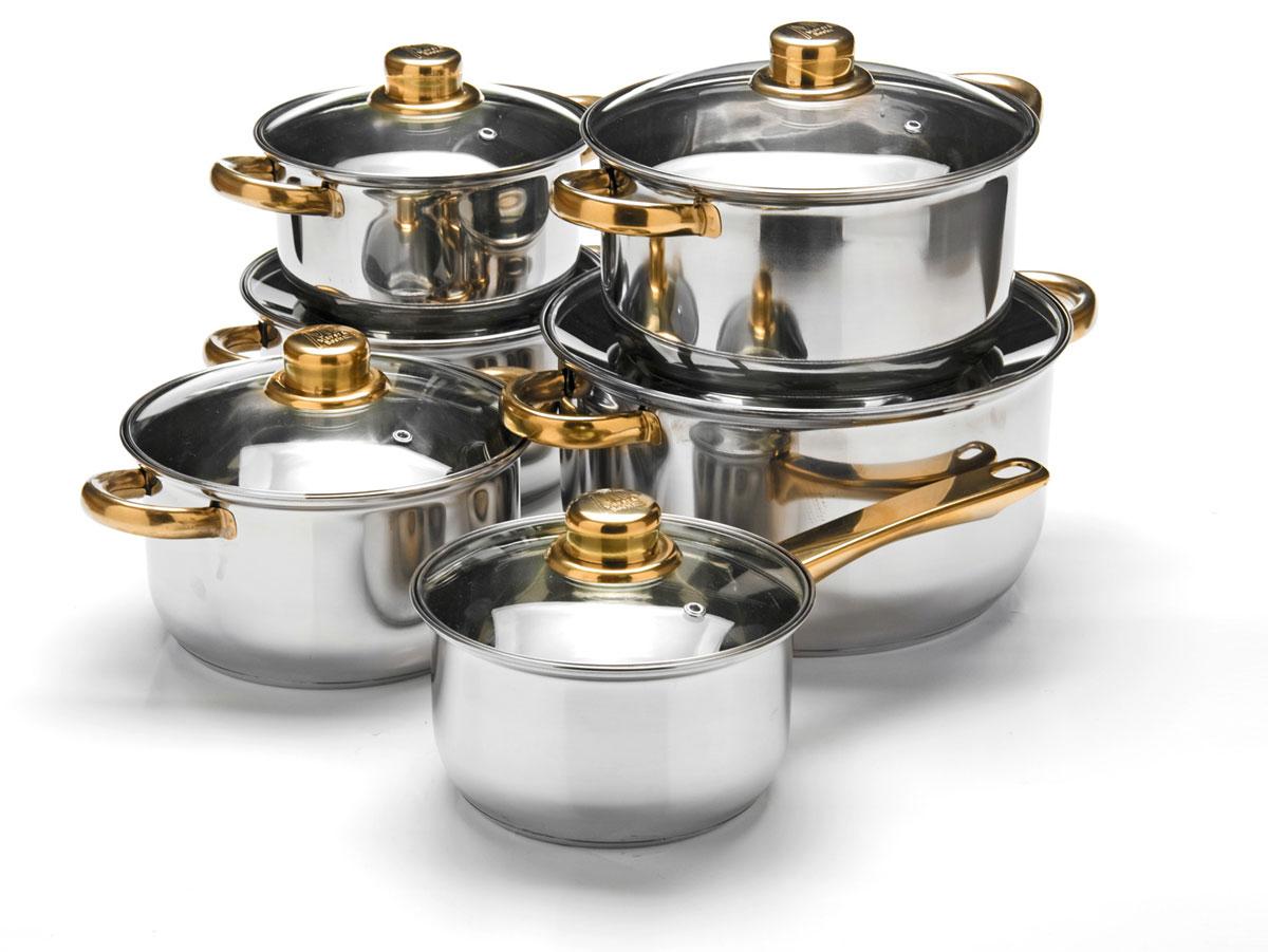 Набор посуды Mayer & Boch, 12 предметов. 25752 качурина т приготовление блюд из рыбы учебное пособие