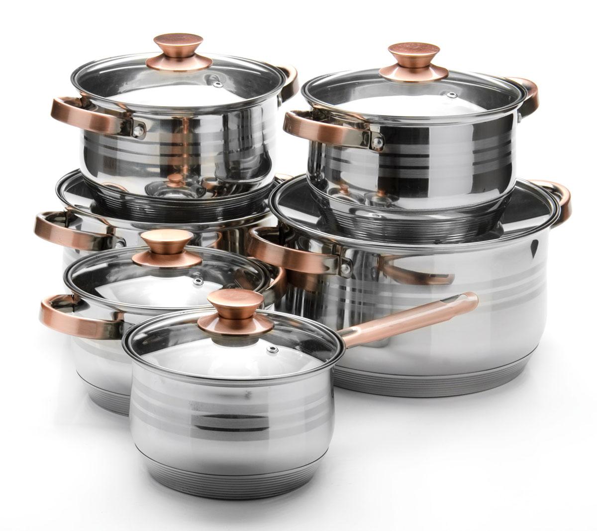 Набор посуды Mayer & Boch, 12 предметов. 26043 качурина т приготовление блюд из рыбы учебное пособие