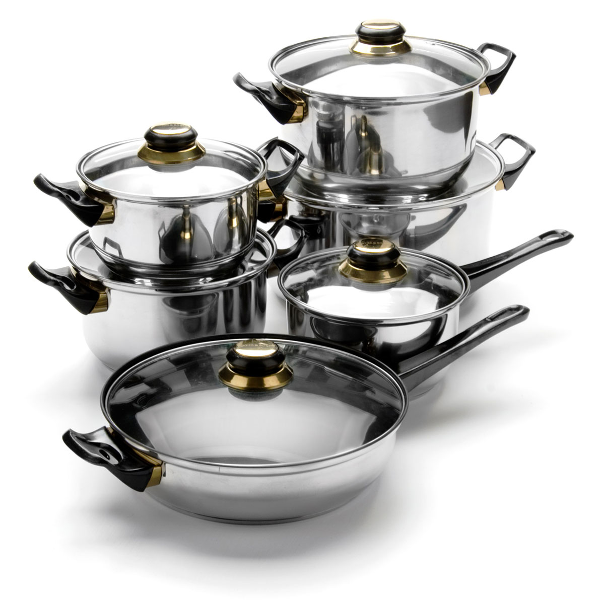 Набор посуды Mayer & Boch, 12 предметов. 6077 качурина т приготовление блюд из рыбы учебное пособие