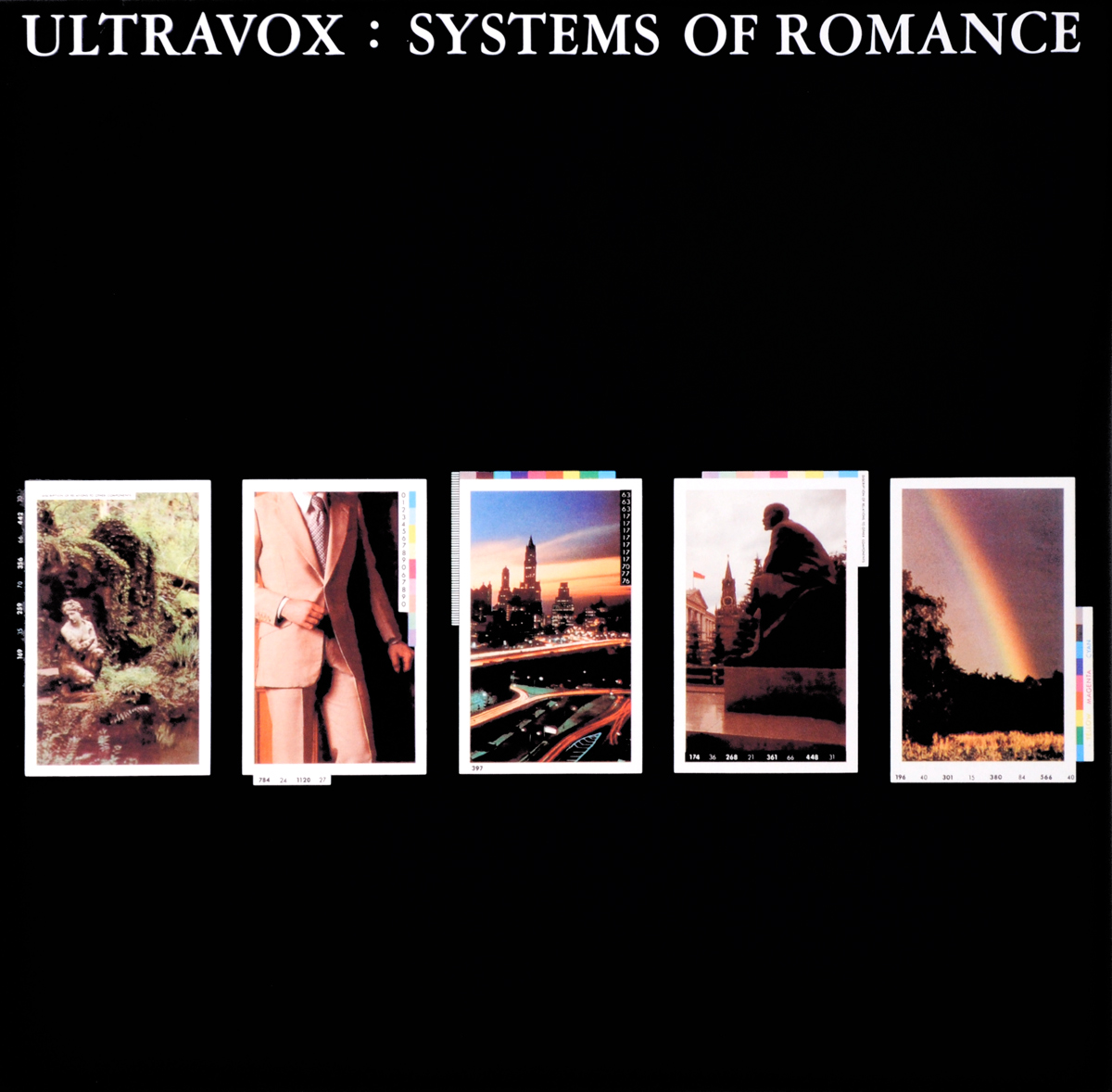 Ultravox Ultravox. Systems Of Romance (LP) ultravox ultravox systems of romance