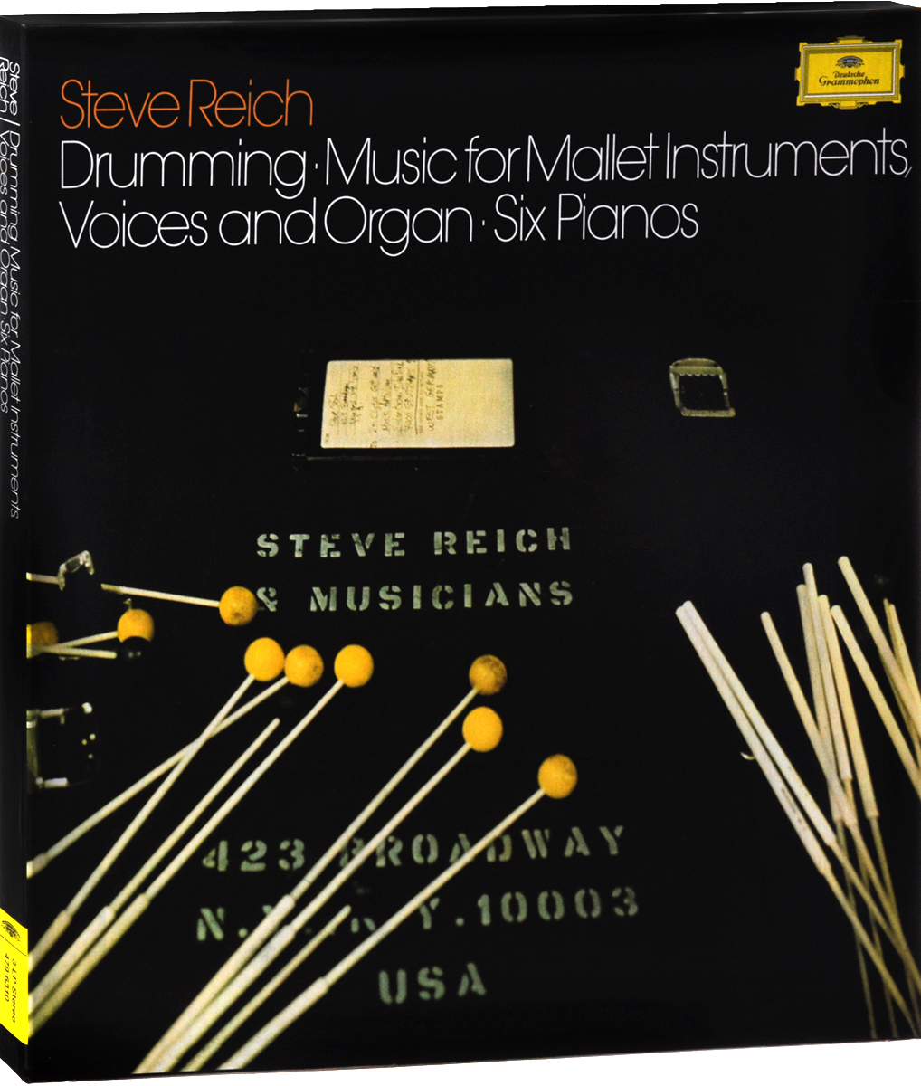 лучшая цена Steve Reich. Drumming. Music For Mallet Instruments, Voices And Organ. Six Pianos (3 LP)